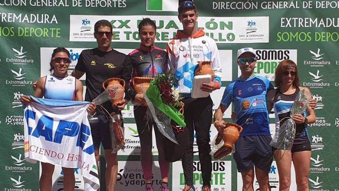 Torrejoncillo celebra una exitosa edición de su tradicional duatlón