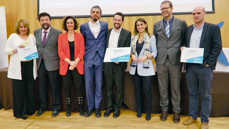 La empresa Powertrack gana los Premios EmprendedorXXI en Extremadura
