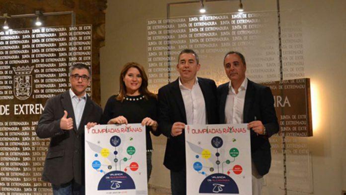 Valencia de Alcántara acogerá la primera edición de las 'Olimpiadas Rayanas'
