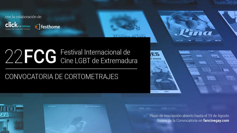 Fancinegay abre su convocatoria anual de cortometrajes para la vigésimo segunda edición de su festival