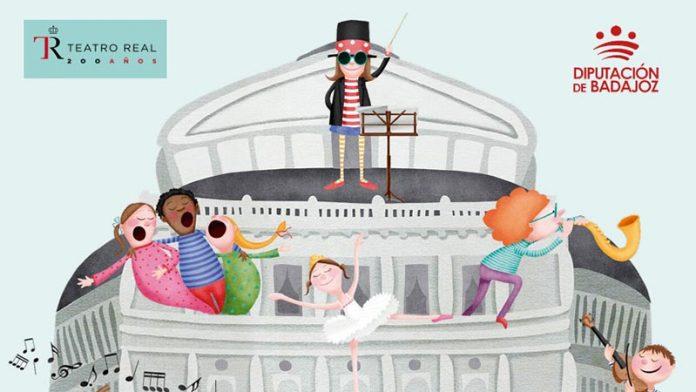 La Diputación de Badajoz y el Teatro Real desarrollarán programas culturales conjuntos