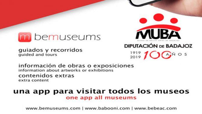 La aplicación 'Bemuseums' permite la visita guiada de la exposición de Julio Romero de Torres en el MUBA