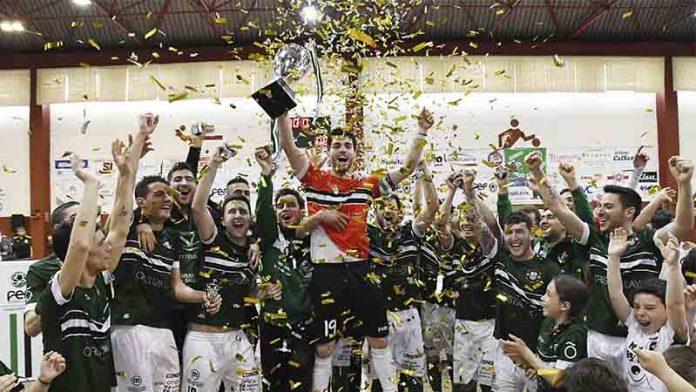 El Jerez Futsal se proclama campeón de la Copa de Extremadura de fútbol sala
