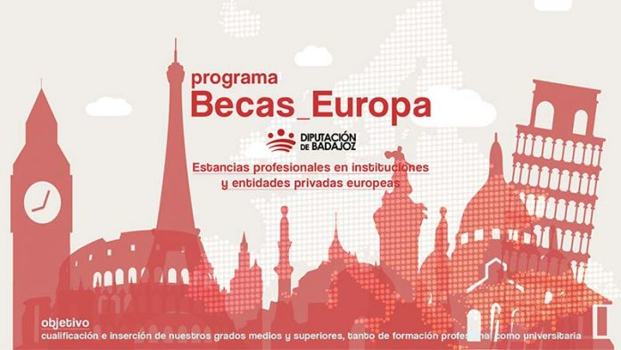 La Diputación de Badajoz convoca una nueva edición de las 'Becas Europa'