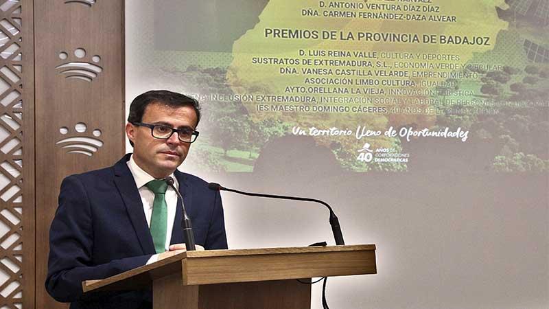 La Diputación de Badajoz da a conocer los galardonados con la Medalla de Oro de la Provincia