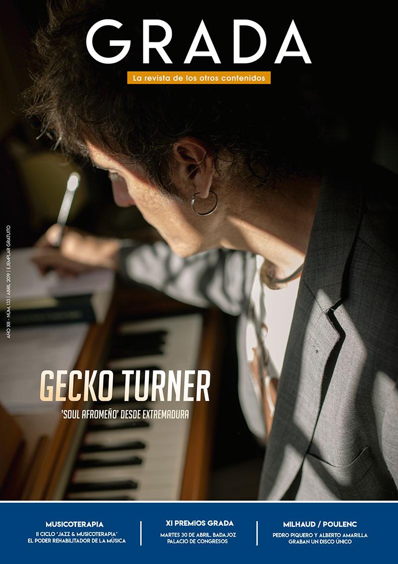 Gecko Turner. 'Soul Afromeño' desde Extremadura. Grada 133. Portada