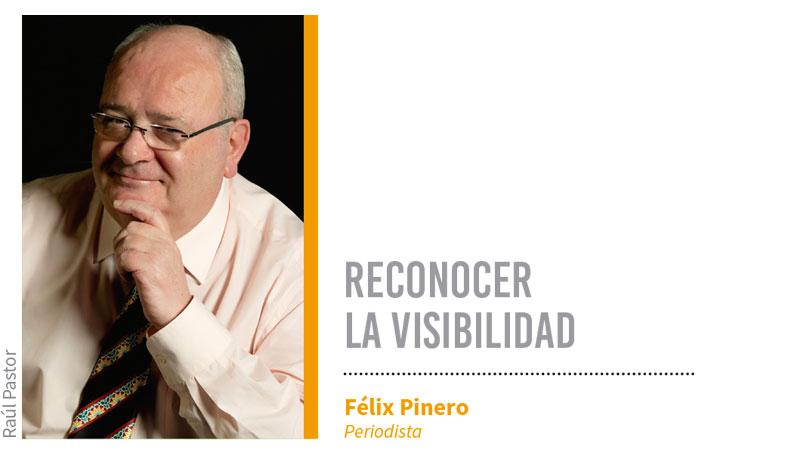 Reconocer la visibilidad. Grada 133. Félix Pinero