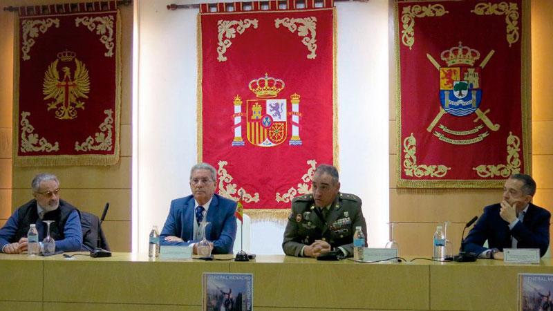 El Palacio de Capitanía de Badajoz habilita un espacio permanente en memoria del general Menacho. Grada 133. Fundación CB