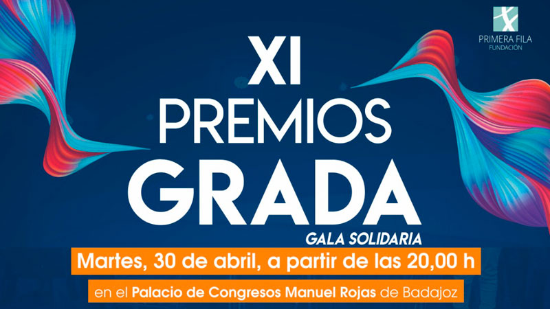 XI Premios Grada. Palacio de Congresos 'Manuel Rojas' de Badajoz, 30 de abril. Grada 133