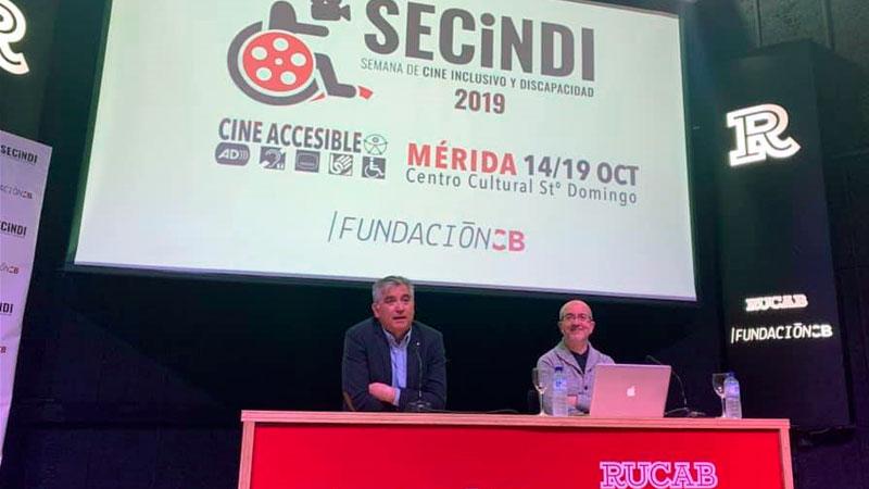 La II Semana de cine inclusivo y discapacidad (Secindi) contará con un concurso de cortometrajes