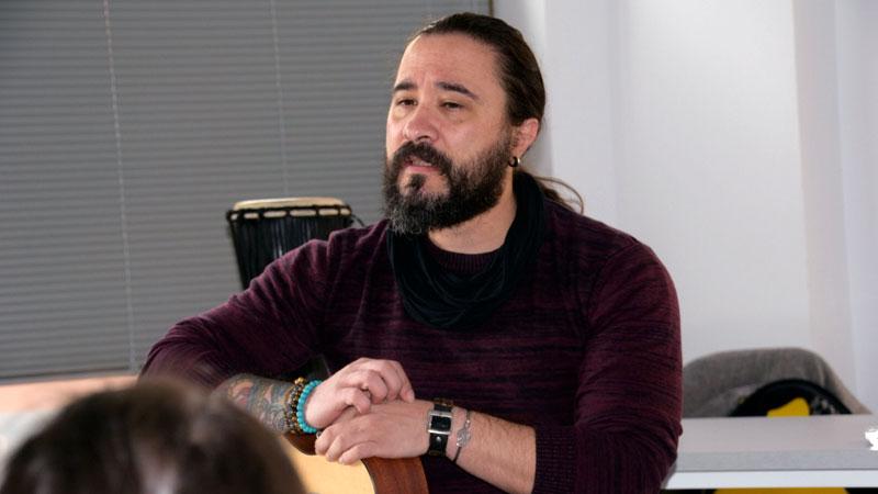 Javier Alcántara y Short Stories Band en la undécima edición de los Premios Grada