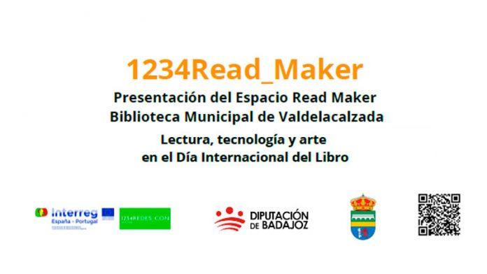 Valdelacalzada celebra el Día Internacional del Libro con la presentación del 'Espacio Read Maker'