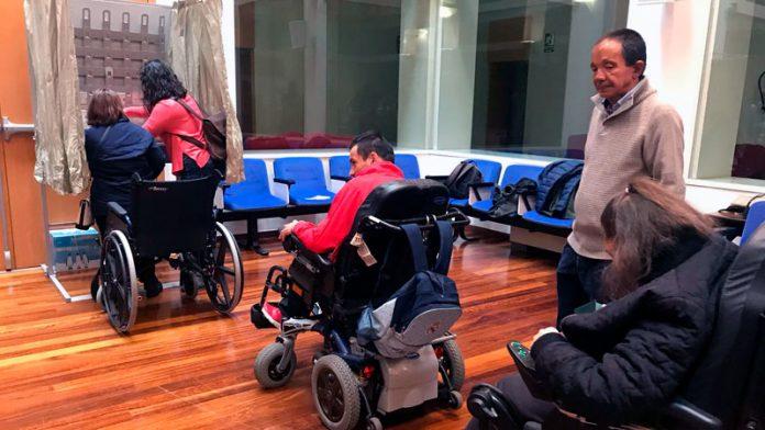 La Delegación del Gobierno organiza un ensayo electoral con personas con discapacidad intelectual