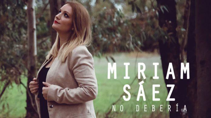 Miriam Sáez presenta su nuevo single 'No debería', rodado en Badajoz