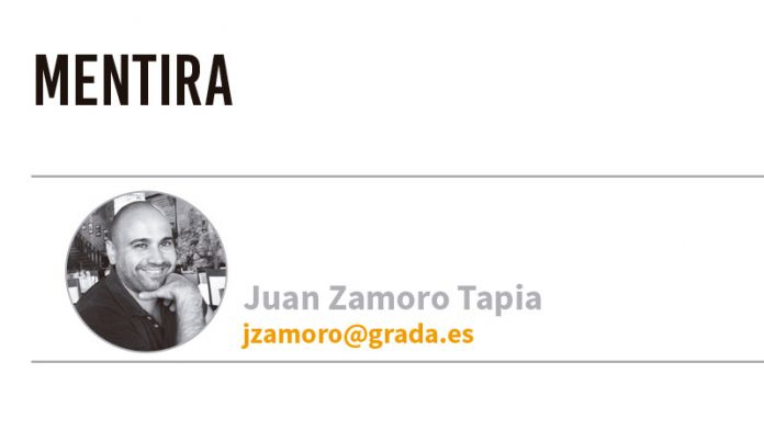 Mentira. Grada 133. Juan Zamoro