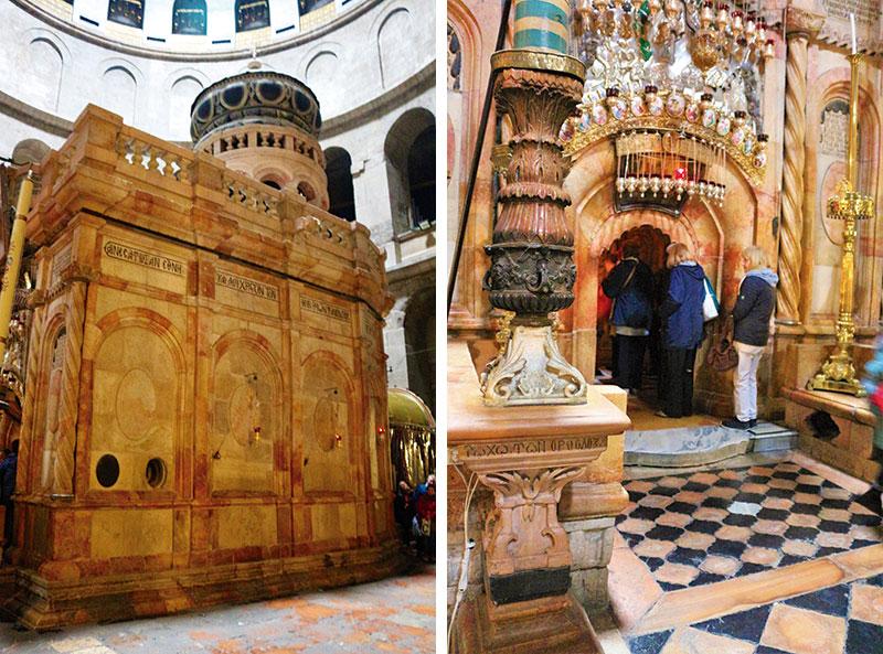 El Santo Sepulcro, el lugar más sagrado del cristianismo. Grada 133. Viajes