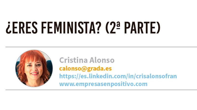 ¿Eres feminista? (2ª parte). Grada 133. Cristina Alonso