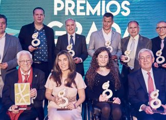Premios Grada 2019. Grada 134. Portada