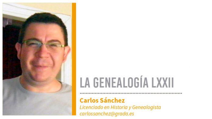 Genealogía LXXII. Grada 134. Carlos Sánchez