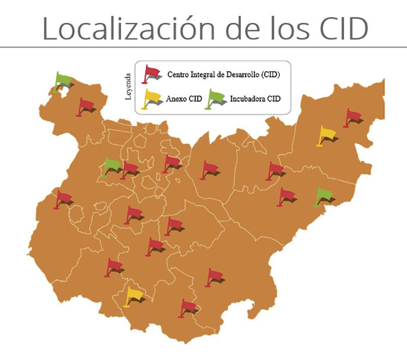 Más de 50 emprendedores y empresas desarrollan sus proyectos en la Red CID de la Diputación de Badajoz. Grada 134