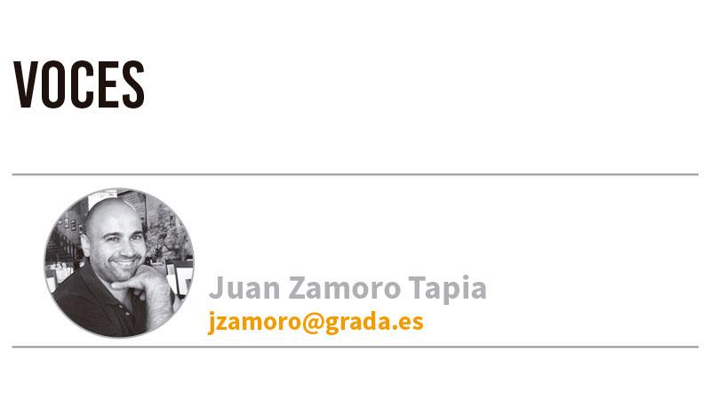 Voces. Grada 134. Juan Zamoro