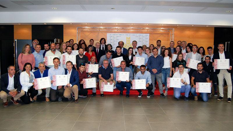 Caja Rural de Extremadura entrega los Premios Espiga del Deporte