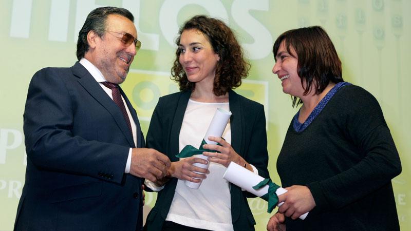 La ONCE entrega una nueva edición de sus premios Tiflos de Periodismo