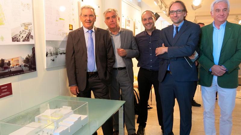 Ángel Ganivet y Juan Carlos Sánchez ganan el concurso de ideas para la nueva sede social y centro cultural de Fundación CB