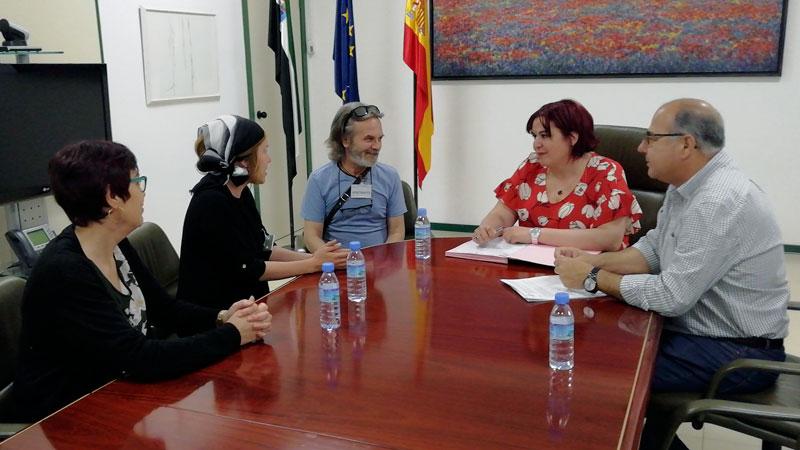 La Junta de Extremadura y la Asociación de personas sordas de Cáceres impulsarán la accesibilidad en Monfragüe