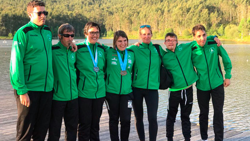 El Club Piragüismo Badajoz impulsa la inclusión a través del deporte