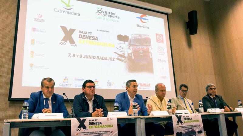 La III Baja TT Dehesa Extremadura se disputará del 7 al 9 de junio