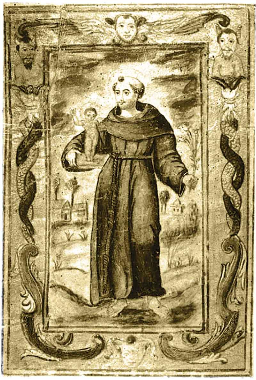 Notícia da fundação da Capela de Santo António dos Portugueses, em Sevilha (1611). Grada 134. A fronteira