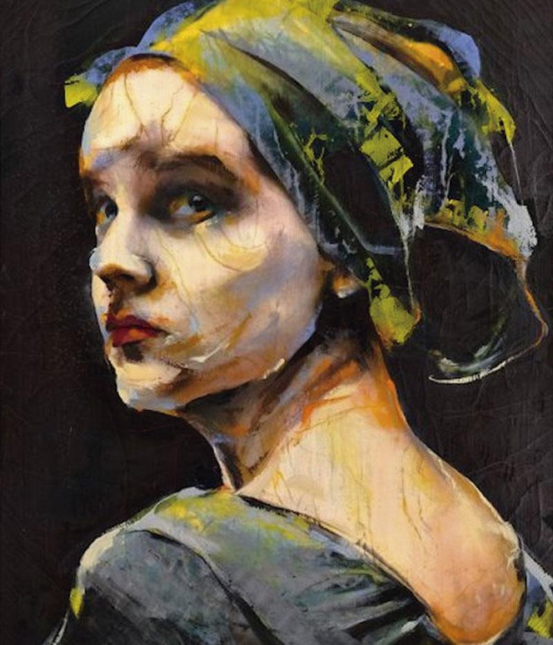 'Dulcinea' - Lita Cabellut. Grada 134. Arte