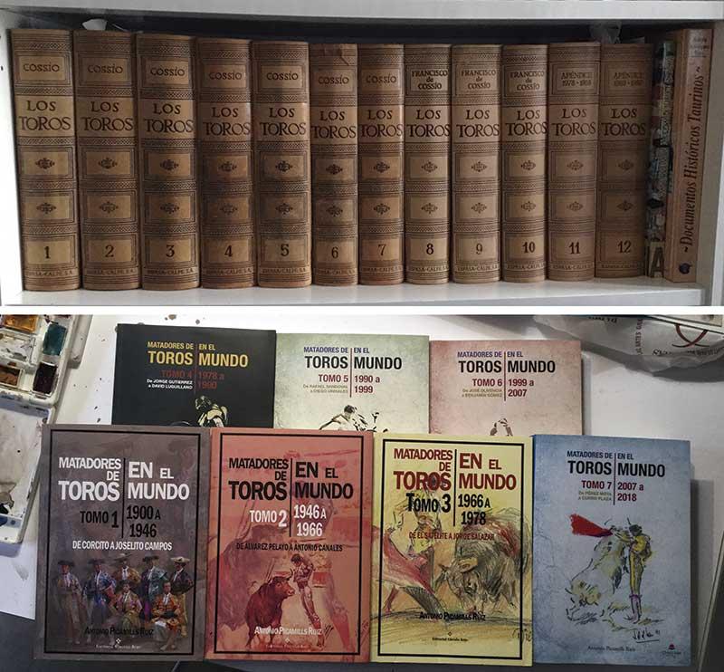 Biografías de matadores de toros. Grada 134. Toros