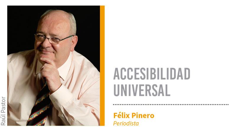 Accesibilidad universal. Grada 135. Félix Pinero