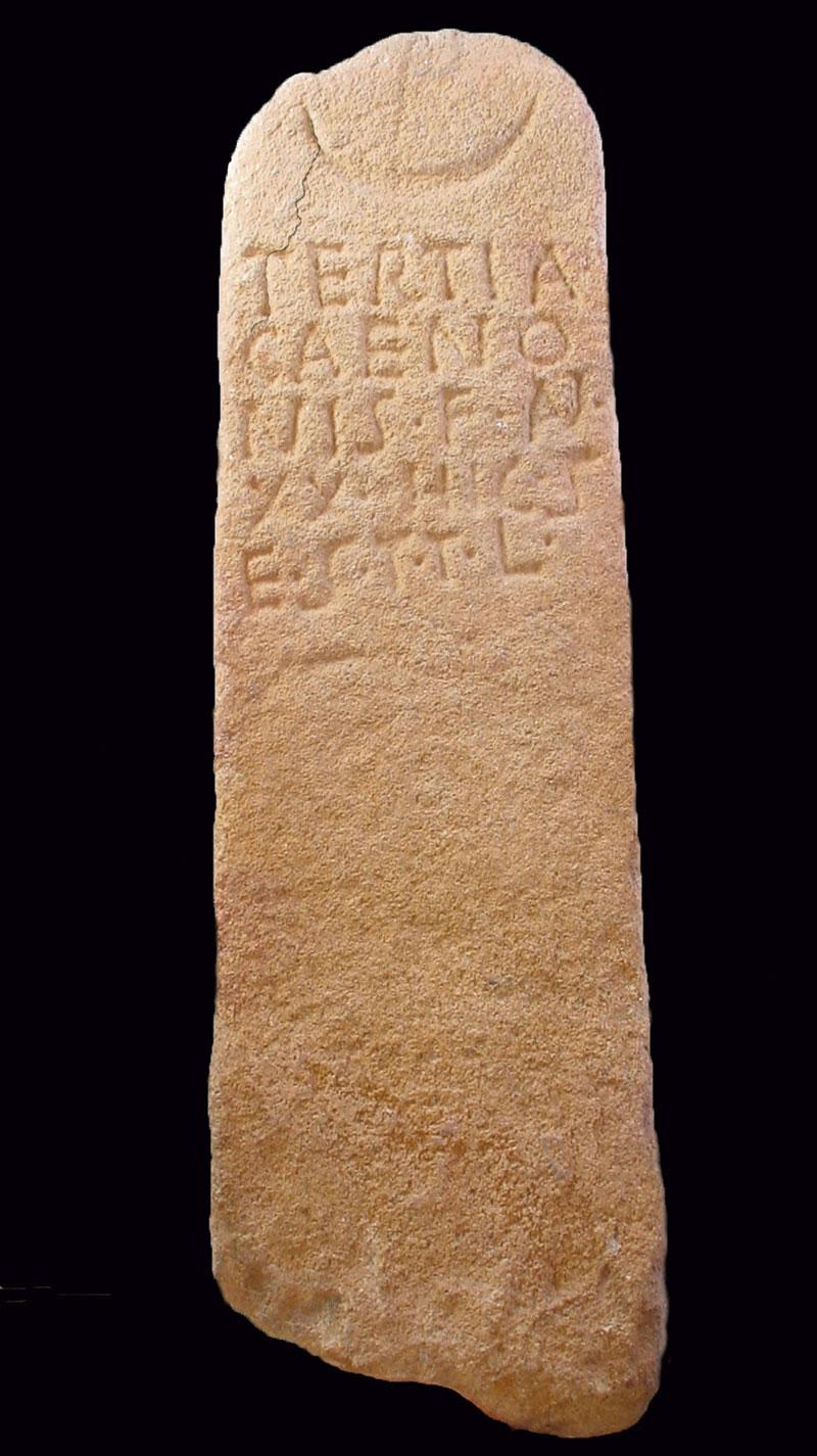 Los nombres de nuestros antepasados: Caeno-Caenon. Grada 135. Arqueología