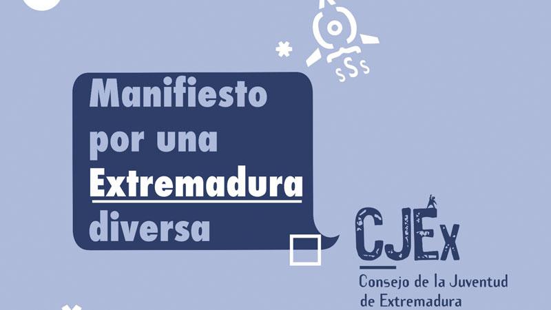 Manifiesto por una Extremadura diversa. Grada 135. Consejo de la Juventud de Extremadura