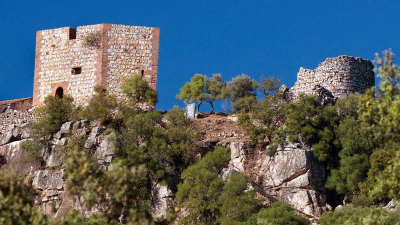 El castillo de Monfragüe. Grada 135. Historia