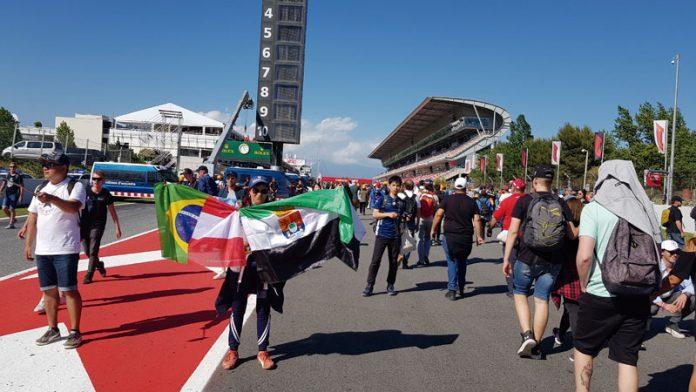 Un año más en el Gran Premio de España. ¿Será el último? Grada 135. Motor