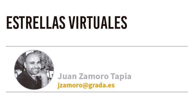Estrellas virtuales. Grada 135. Juan Zamoro