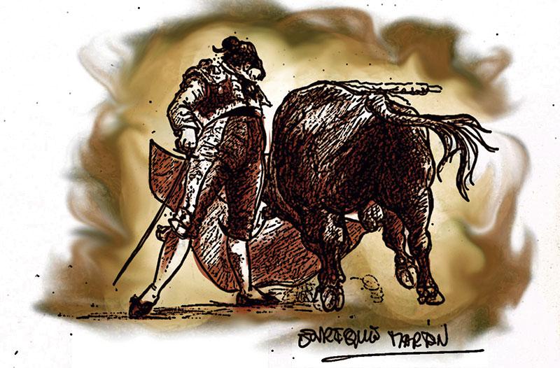César Rincón: seis puertas grandes en Las Ventas. Grada 135. Toros
