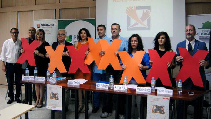 Representantes del Tercer Sector hacen un llamamiento a marcar la 'X Solidaria' en la declaración de la Renta