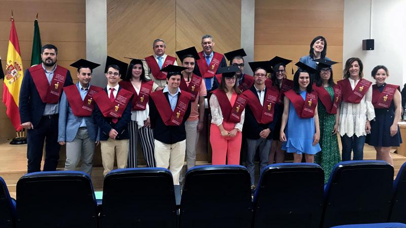 Jóvenes con discapacidad intelectual se gradúan por la Universidad de Extremadura en un curso de capacitación para el empleo