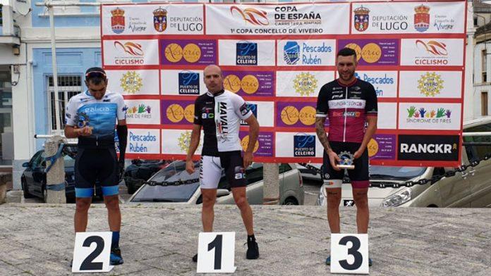 Rubén Tanco sigue liderando la Copa de España de ciclismo adaptado tras la prueba de Lugo