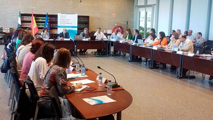 El Comité de Seguimiento del Programa Operativo del Fondo Social Europeo se reúne en Mérida