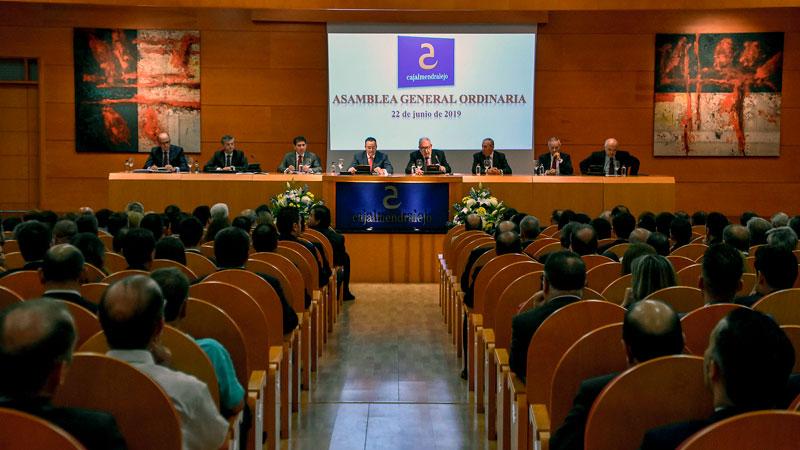 Cajalmendralejo, cabecera del Grupo Cooperativo Solventia, celebra su asamblea general