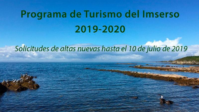 El Imserso abre el plazo para solicitar plaza en el programa de turismo social de la temporada 2019/2020