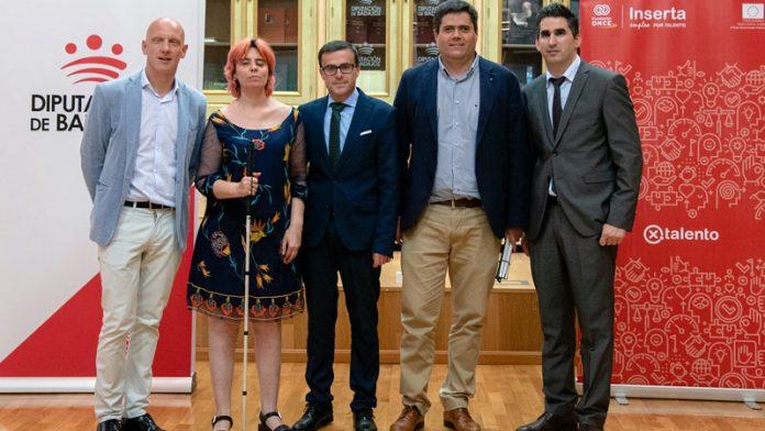 La Diputación de Badajoz e Inserta Empleo fomentan el empleo de las personas con discapacidad
