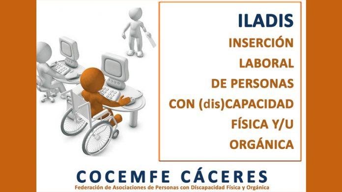 Cocemfe Cáceres desarrolla el proyecto de inserción laboral de personas con discapacidad 'Iladis'
