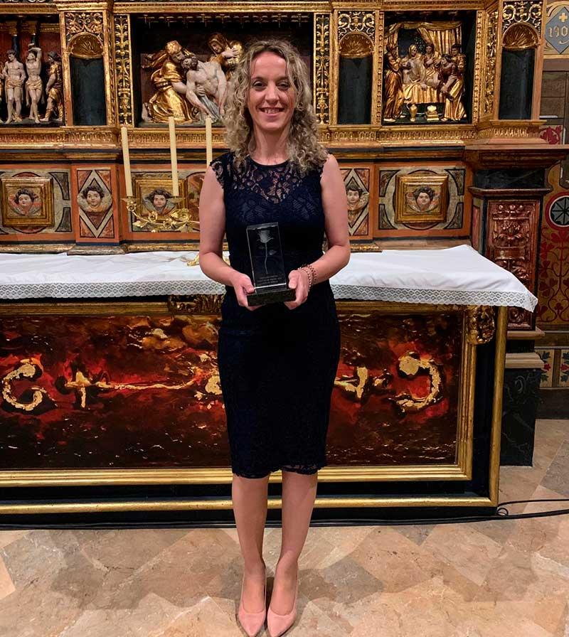 Vanessa Cordero gana el premio 'Amantes de Teruel' en el certamen de poesía de la ciudad aragonesa